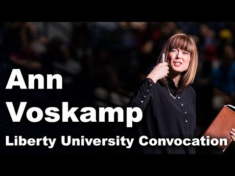Ann Voskamp - Liberty University Convocation
