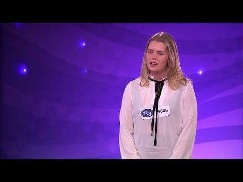 Victoria Odéhn - Brinner i Bröstet av Danny Saucedo (hela audition) - Idol Sverige (TV4)