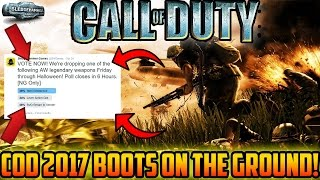 COD 2017 WILL BE BOOTS ON THE GROUND!!