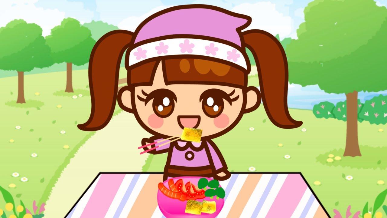 まりちゃんがお腹がすいちゃった! おかいものをしてクッキングをしてピクニックにいこう! 第1話【まりちゃんアニメ】