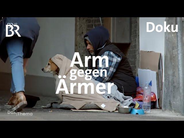 Obdachlos in Bayern - Konkurrenz auf der Straße | DokThema | Doku