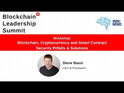 Blockchain, Cryptocurrency and Smart Contract Security Pitfalls & Solutions: Polyswarm workshop