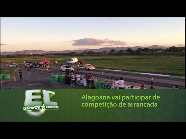 Alagoana Mariana Ferro vai participar de competição de arrancada na Paraíba