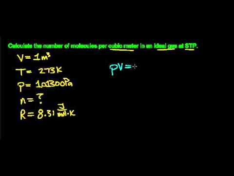 how to find number of molecules