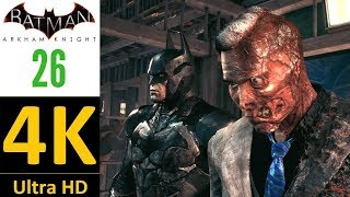 4K/60 fps-Batman Arkham Knight(World Record):Part 26-Two-Faced Bandit(Hard/No Damage/No Upgrades).