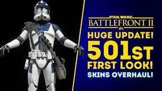 501st FIRST LOOK! HUGE CLONE TROOPER UPDATE DETAILS! - Star Wars Battlefront 2