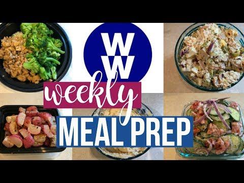Healthy Meal Prep   Orange Chicken Bowls, Rotisserie Chicken Salad + More!