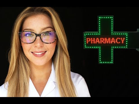 [ASMR] Pharmacist Advice Roleplay