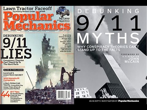Popular Mechanics, Davin Coburn is caught lying about the evidence of 9/11