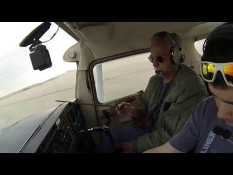 KGVT flight lesson (Part 1) ATC audio