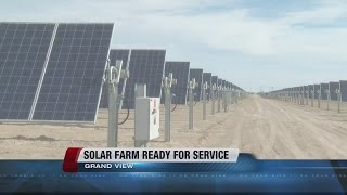 Clenera solar farm in Grand View ready to power Treasure Valley homes