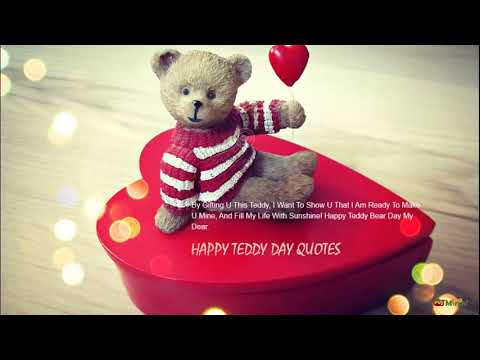 Happy Teddy Day 2019|Quotes, Status, Wallpapers, Pics, Greetings Mp3