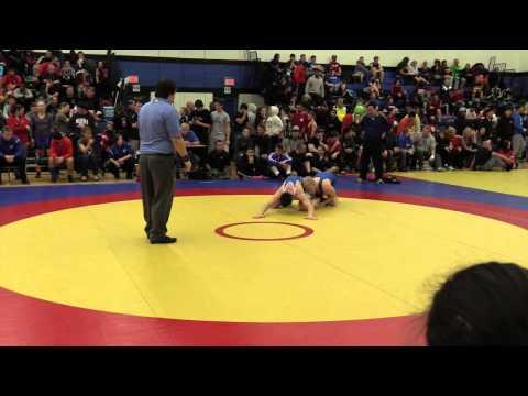 2014 Matmen Classic: 72 kg Kyle Tracy vs. Francis Carter
