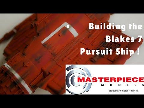 Masterpiece Models Blakes 7 Pursuit ship - The build