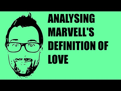 Poetry Show #3 - Andrew Marvell, The Definition of Love
