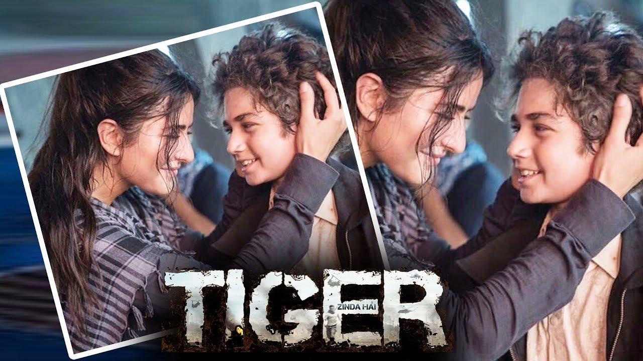 Katrina Kaif's FIRST LOOK With Child Artist - Tiger Zinda ...