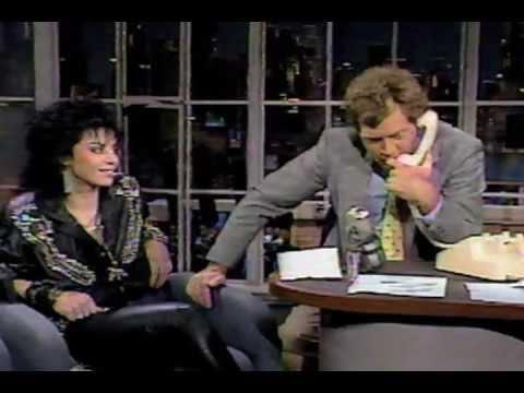 Letterman: Joan Jett performance & interview [1987]