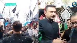 Akbaruddin Owaisi Visits Bibi Ka Alawa in Old City Hyderabad | Overseas News