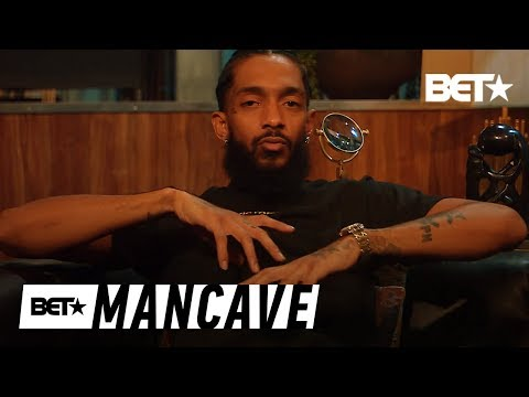 Nipsey Hussle Won't Change For Anyone! | BET's Mancave