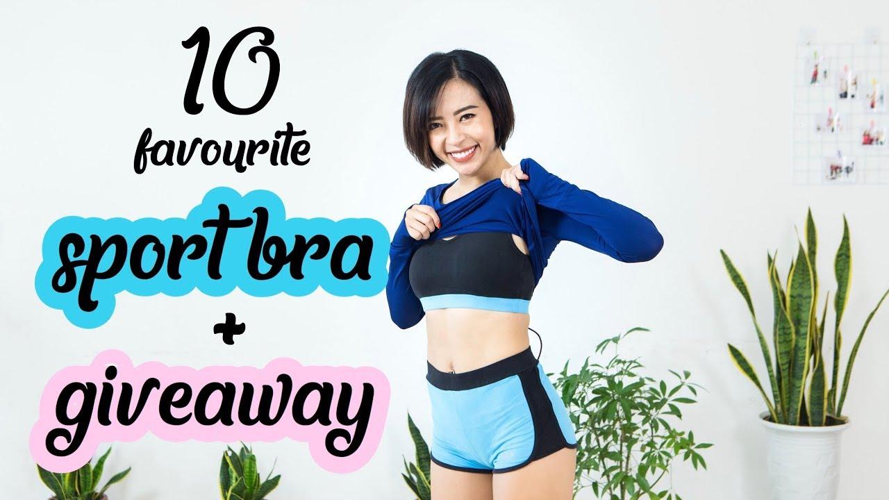 10 SPORT BRA yêu nhất hè này + GIVEAWAY ♡ Hana Giang Anh