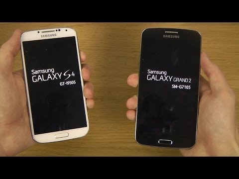 Samsung Galaxy S4 vs. Samsung Galaxy Grand 2 - Which Is Faster?