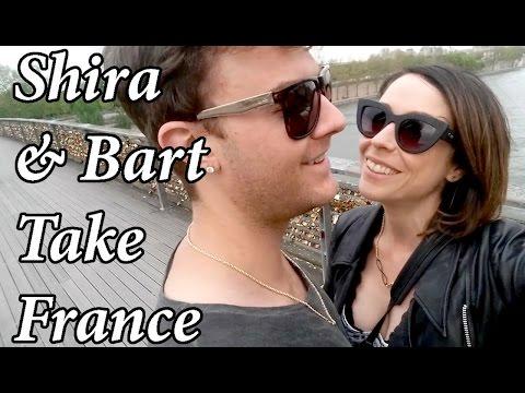 Shira Lazar and Bart Baker TAKE FRANCE!