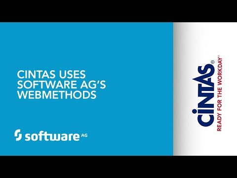 Cintas uses Software AG's webMethods