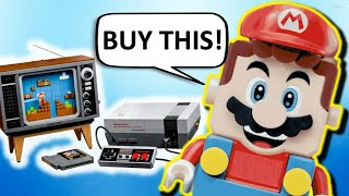 Lego NES Commercial but It's Mario's Infomercial