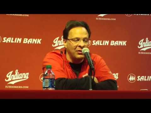Indiana Basketball Coach Tom Crean talks about 2014 signee Max Hoetzel