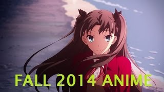 Fall Anime Season 2014 Impressions/Overview