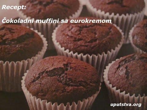 Kako napraviti čokoladne muffine