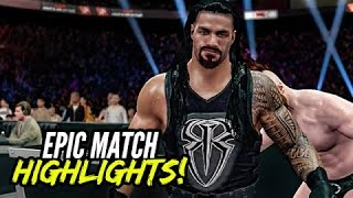 Sheamus Vs Roman Reigns epic TLC match WWE 2K15 PC.