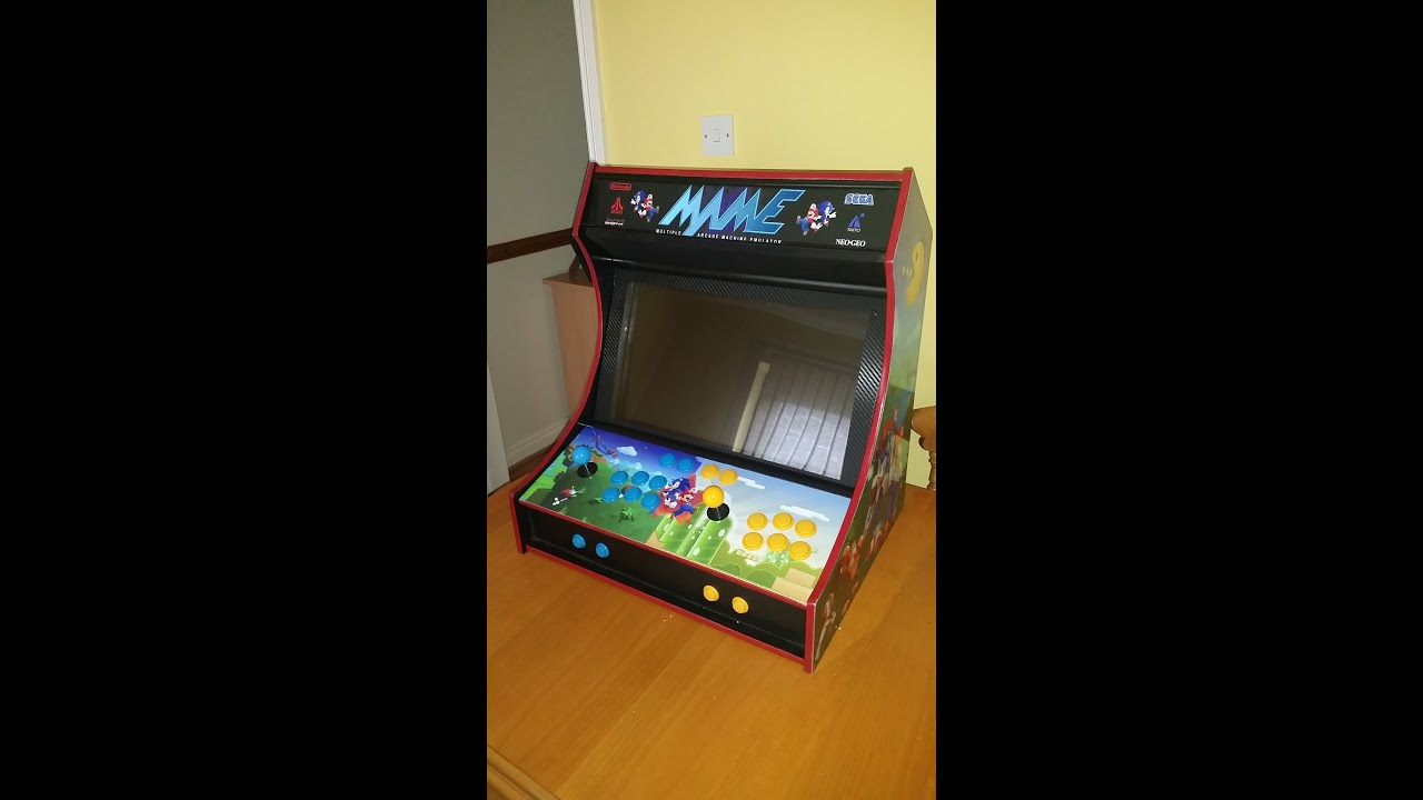 build your own arcade cabinet mame arcade machine diy project 12609