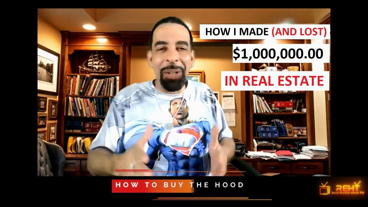 "Watch ""HOW TO BUY THE HOOD"" Only On REH TV - ""How I Made (and Lost) $1,000,000 In Real Estate"""