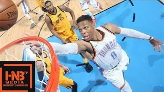 Oklahoma City Thunder vs Utah Jazz Full Game Highlights / Game 2 / 2018 NBA Playoffs