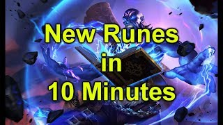 Everything you need to know about Runes in 10 minutes