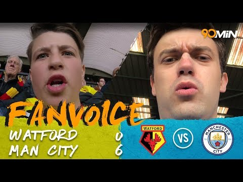 Sergio Aguero hat trick | Aguero stars as Man City win 6-0 v Watford | 90min FanVoice