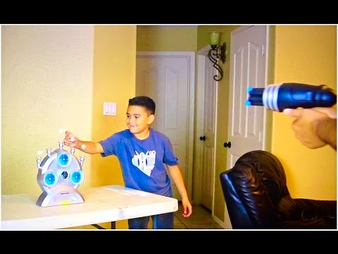 HOVER TARGET GAME!! with DAMIAN AND DEION! |