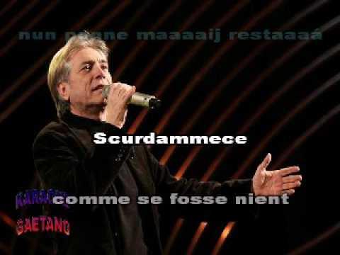 Nino D'Angelo Scurdammece karaoke