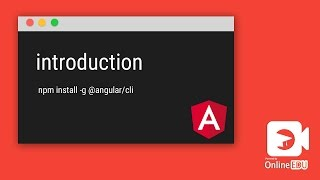 angular cli introduction