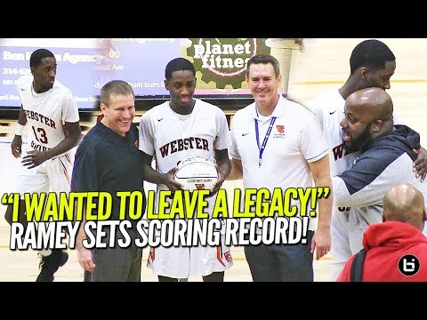 """""""I WANTED TO LEAVE A LEGACY!"""" Courtney Ramey Sets Scoring Record At Webster Groves!!"""