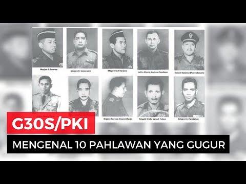 mengenang 10 pahlawan revolusi yang gugur saat g30s pki