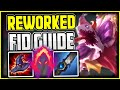 NEW FIDDLE JUNGLE GUIDE - How to play New/Reworked FIDDLESTICKS - League of Legends