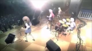 """Песня из аниме """"Angel Beats!"""" С текстом слов и переводом на русский..."""