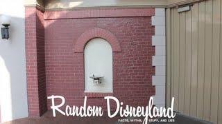 Disneyland Secret Mysterious Test Wall Myth : Plus, a Hidden Mickey!