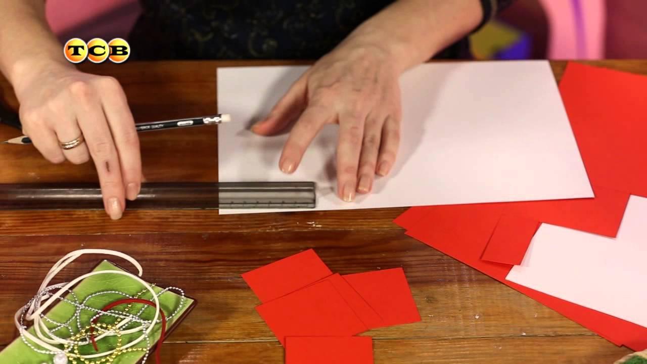 оригами на 8 марта своими руками пошаговая инструкция с односторонней бумагой
