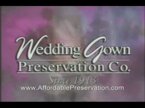 Wedding Gown Preservation Process