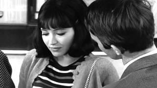 """De l'amour"" (Jean Aurel, 1964) - Anna Karina (Bus scene)"