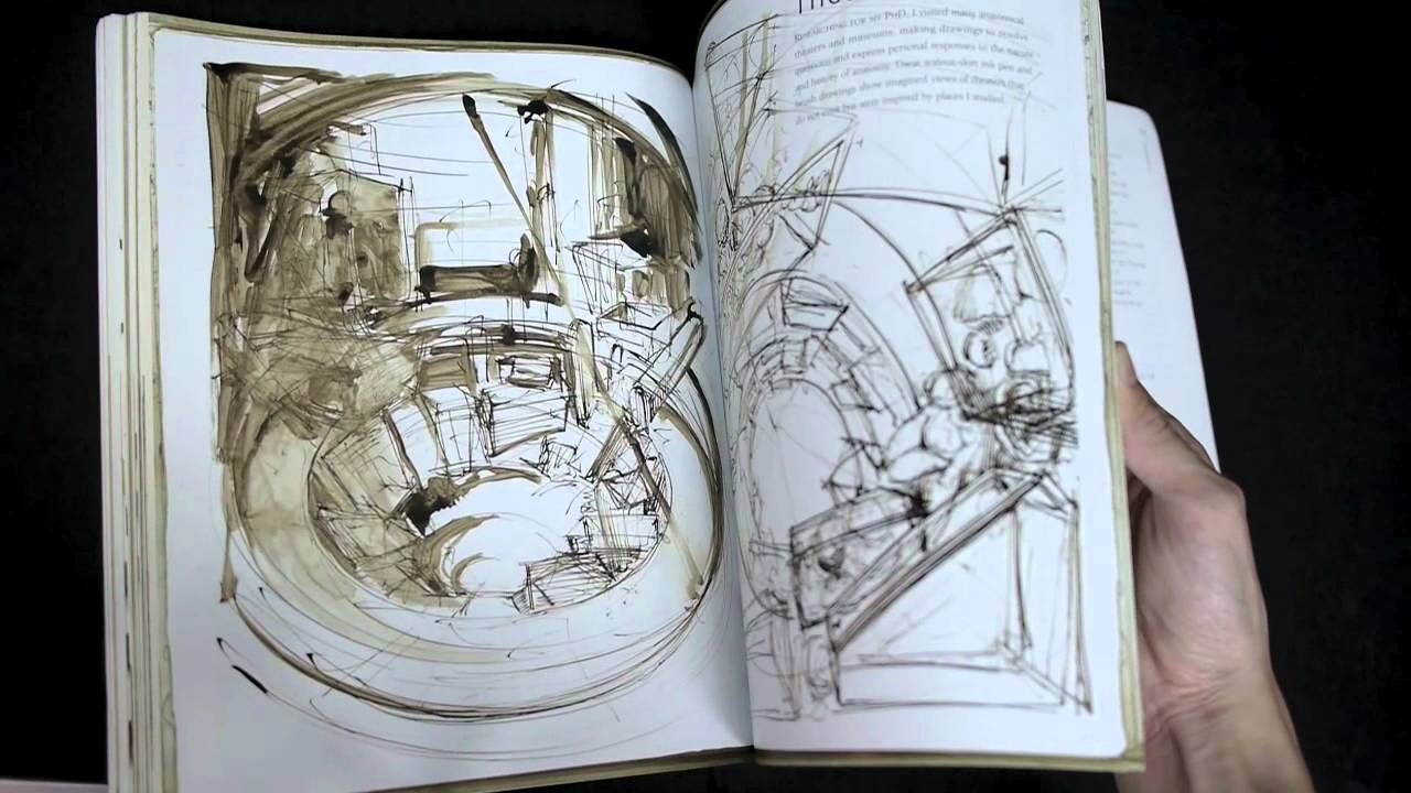 Sketch Book For the Artist by Sarah Simblet - YouTube
