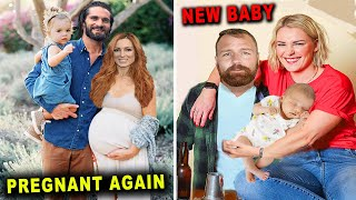 5 WWE Couples Having Babies in 2021 Seth Rollins Becky Lynch Dean Ambrose Renee Young